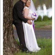 Orange Wedding: Stuart and Linda